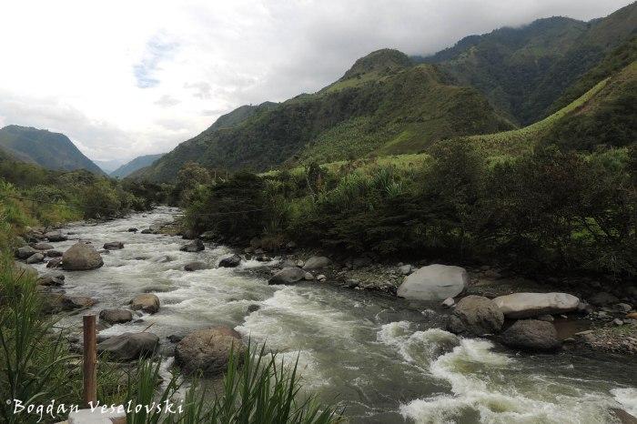 Intag river