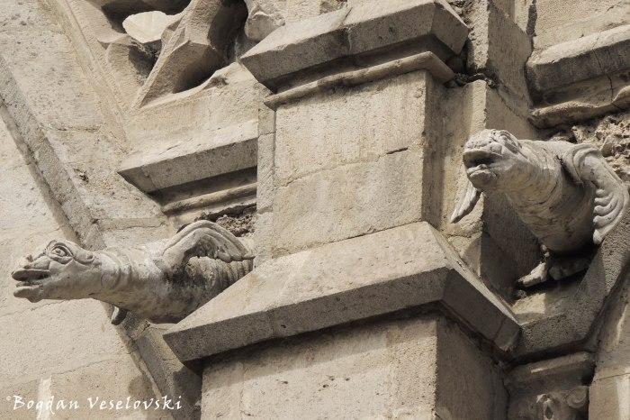 Mysterious gargoyles