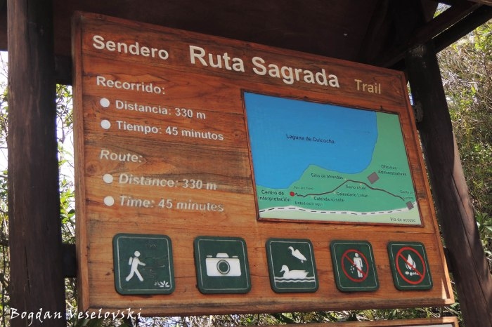 Sagrada trail
