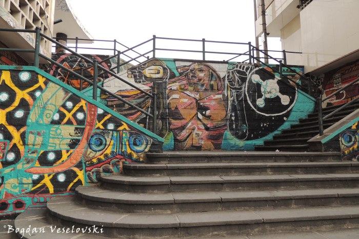 Stairway passage