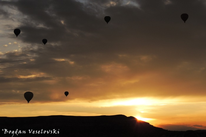 Cappadocia Sunrise - Göreme hot air balloons
