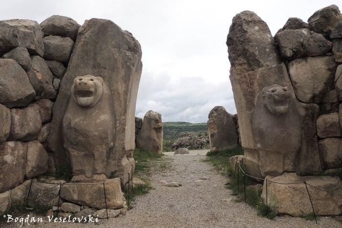 Aslanlı kapı (Lion gate)