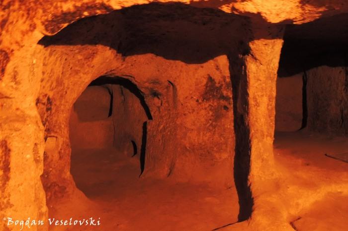 Kaymaklı underground city
