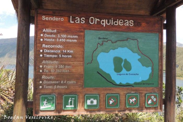 Sendero Las Orquideas (Orchid trail)