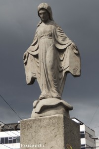 Virgin monument