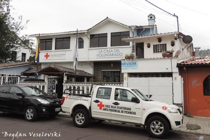 Joaquín Pinto E4-169 - Cruz Roja Ecuatoriana; La Casa del Voluntariado