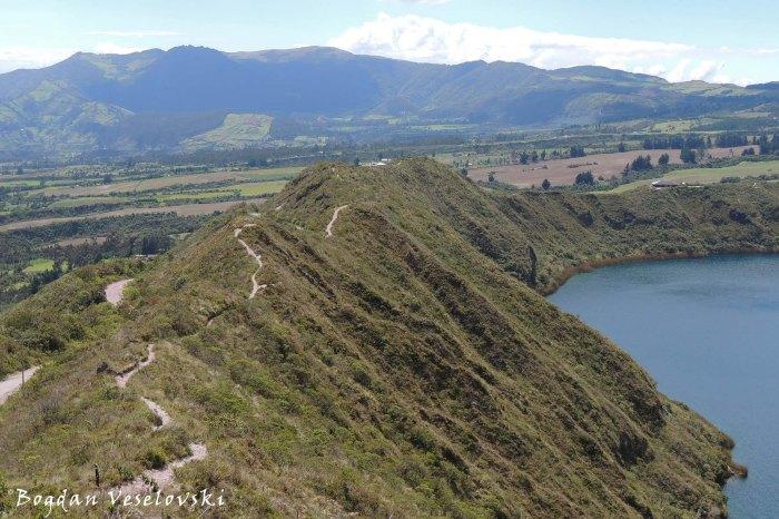 'Las Orquideas' trail