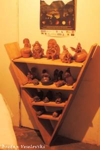 Pre-columbian artefacts
