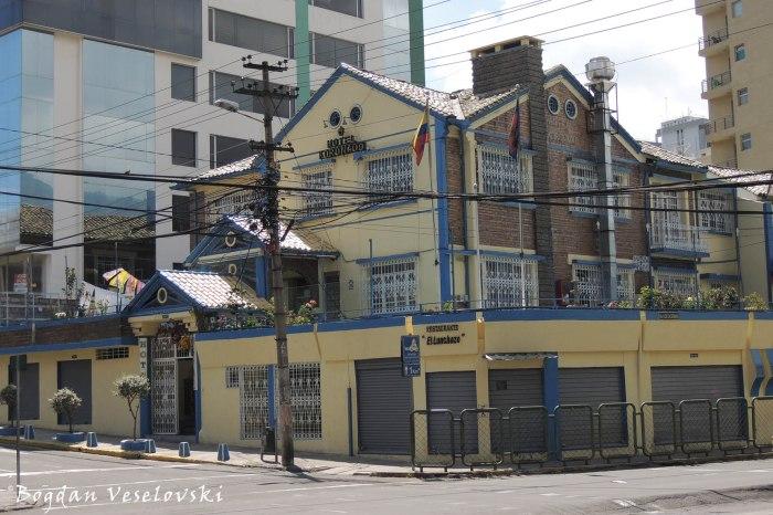 Luis Cordero ⟂ Av. 6 de Diciembre - Hotel Koronado
