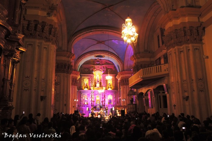 Christmas concert in Carmen Alto Churh