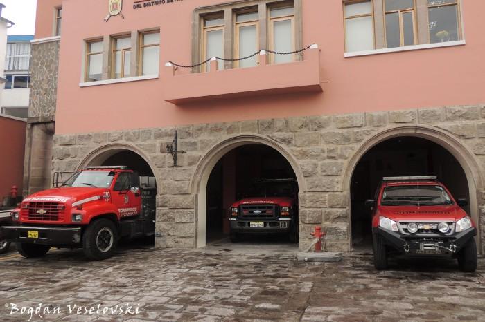 Ignacio de Veintimilla - Comandancia Cuerpo de Bomberos de Quito