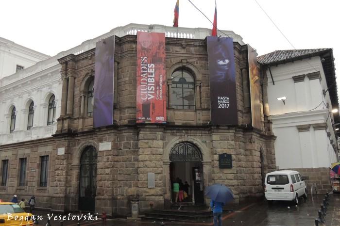 Centro Cultural Metropolitano - Alberto Mena Caamaño Museum's entrancee