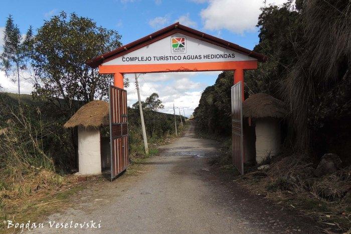 Complejo Turistico Aguas Hediondas - main entrance