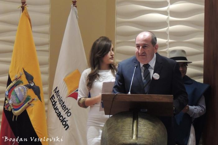 Speech of EDIFICAR's director
