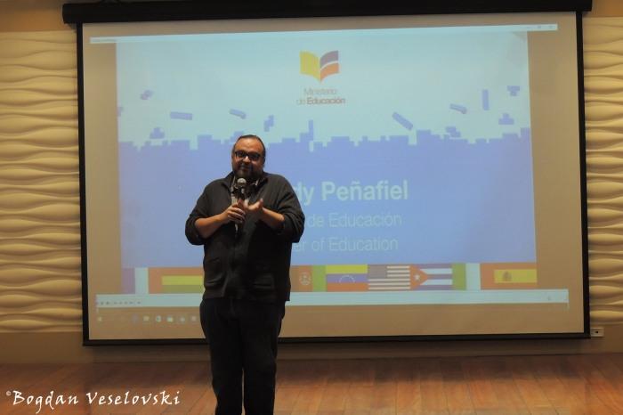 Speech of Freddy Peñafiel, Minister of Education