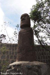 Easter Island's figure