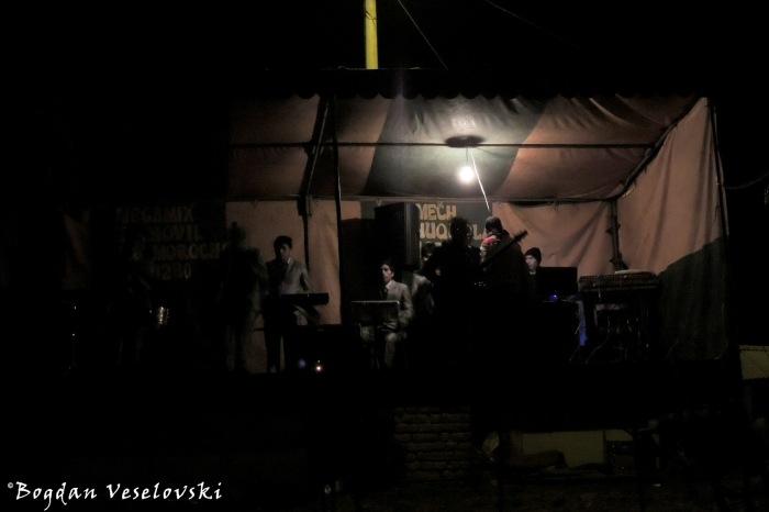 Bulb light concert