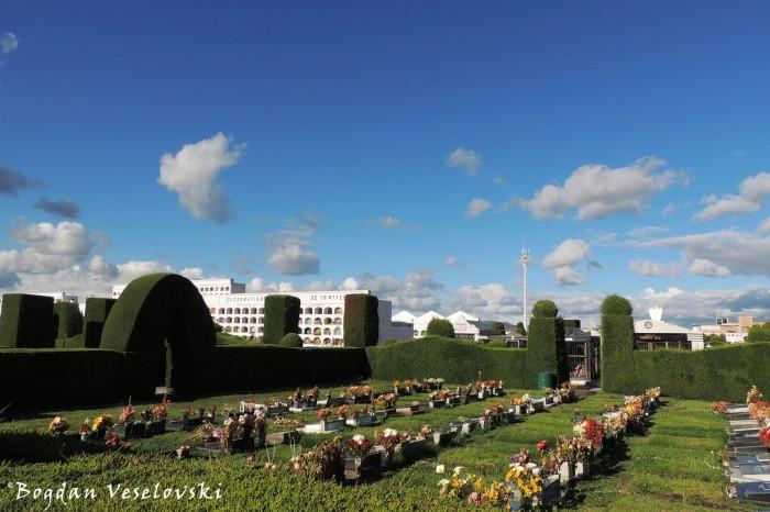 Topiary garden cemetery