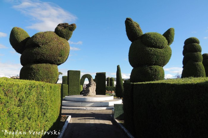 The most elaborate topiary in the New World