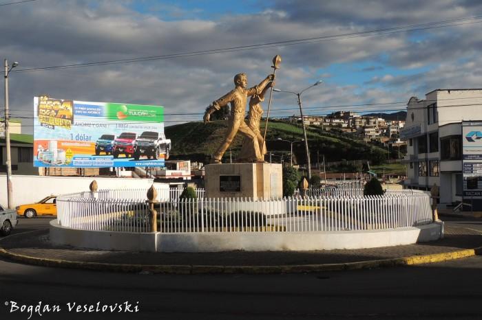 Roundabout monument