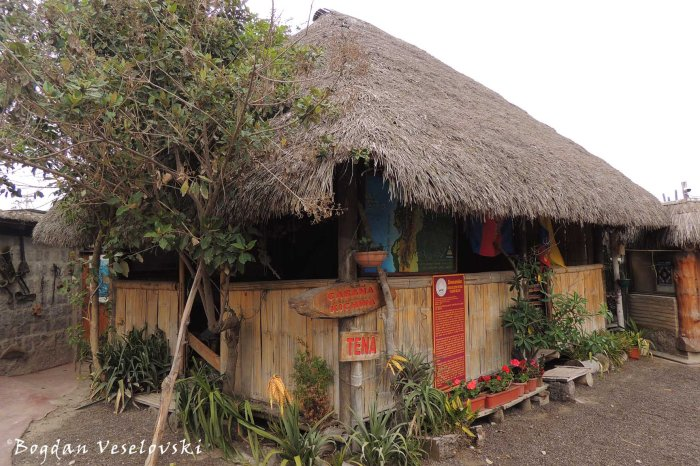 Cabaña Kichwa (Quechua hut)