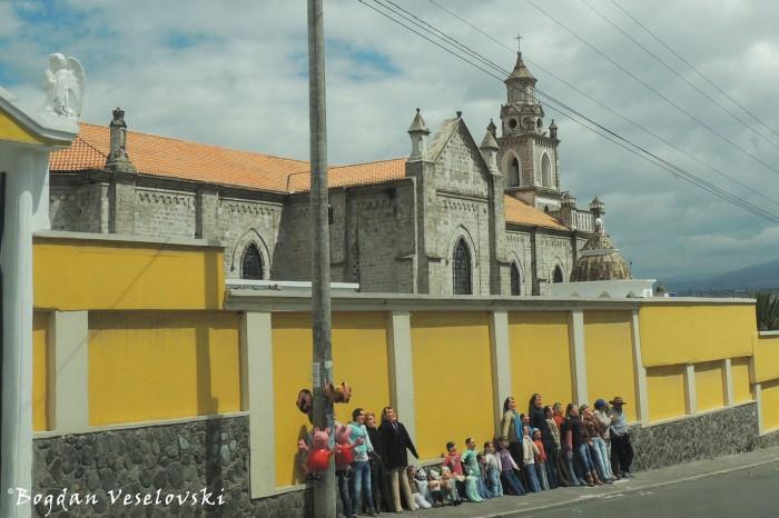 San Felipe Church, Latacunga
